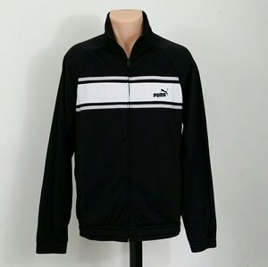 Puma Sport Lifestyle Black Athletic Jacket